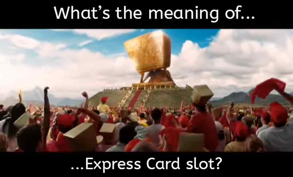 whats the meaning of express card 1024